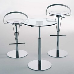 Cayman Transparent Bar Stool