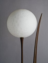 Sculpture Dent Floor Lamp