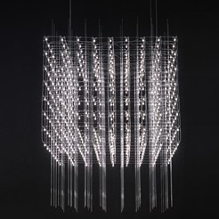 Universe Square Suspension Lamp