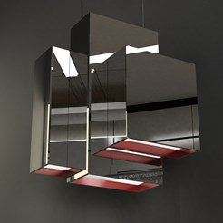 Blox Suspension Lamp