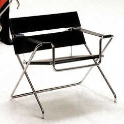 D4 Bauhaus Folding Armchair