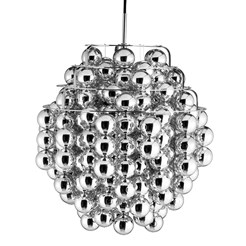 Ball Silver Pendant Lamp