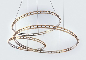 Citadel Composition Suspension Lamp