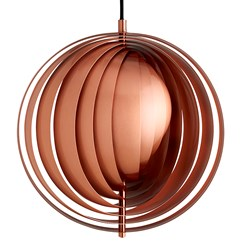 Moon Copper Pendant Lamp
