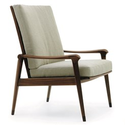 Denny Armchair with high backrest