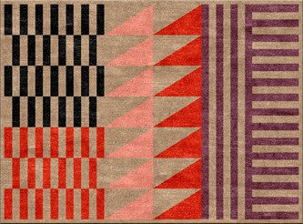 Folk Geographic Rug