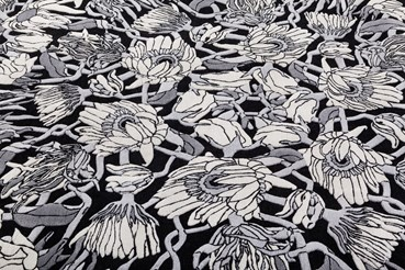 Withered Flowers Rug
