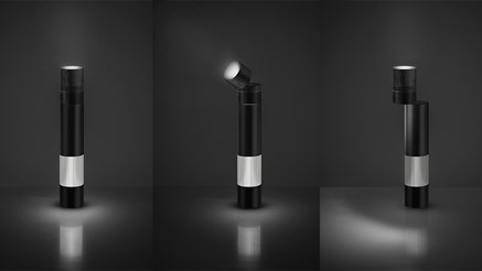 Objective Table Lamp