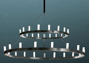 Chandelier Double Suspension Lamp
