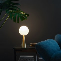 Bilia Gold LED Table Lamp