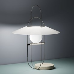 Setareh Table Lamp Oval