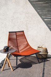 Laze Lounge Chair High Backrest