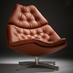 F 500 Series Swivel Armchair