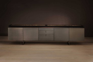 Philippe Metal or Leather Sideboard