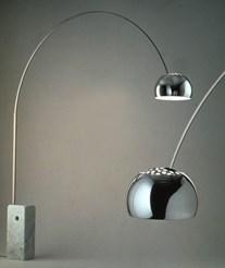 Achille pier giacomo castiglioni house o39 luv for Arco floor lamp youtube