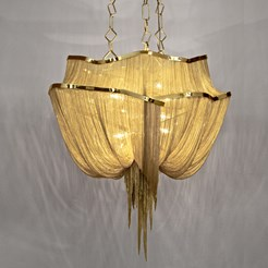 Atlantis 2 Tiers Suspension Lamp