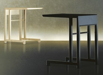 Eos Rectangular Side Table