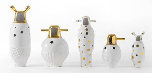 Showtime Gold Vases